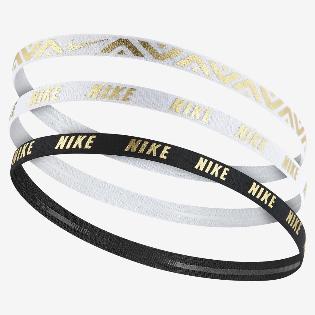 e40ce09a9c7b8 Nike Metallic Hairbands (3 Pack)