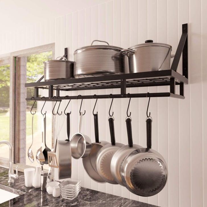 Kes Kitchen Pan Pot Rack   Best Kitchen Wall Storage ...