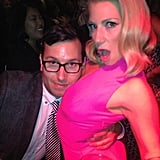 Jamie Travis and Ari Graynor got silly at the premiere of For a Good Time, Call . . .. Source: Twitter user AGraynor