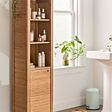 Silvia Bamboo Bathroom Storage Shelf