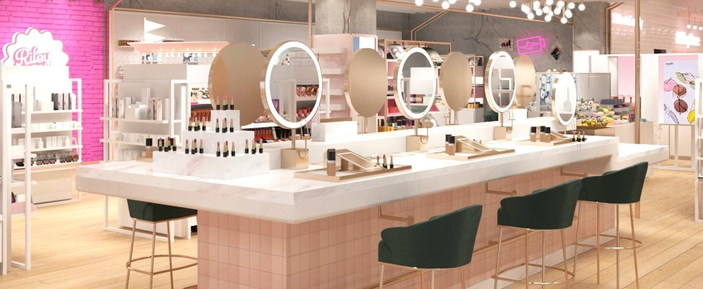 This Major New Beauty Store Looks Like Barbie's Dream House