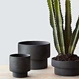The Citizenry Handcrafted Matte Black Planters