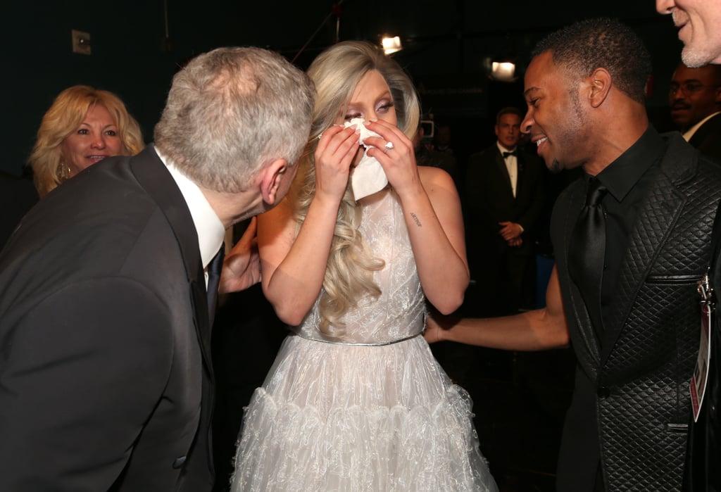 Lady Gaga at 2015 Oscars