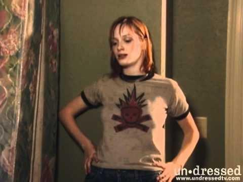 Christina Hendricks on Undressed
