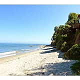 One of the most enticing aspects of the house is that it comes with private access to Little Dume Beach.