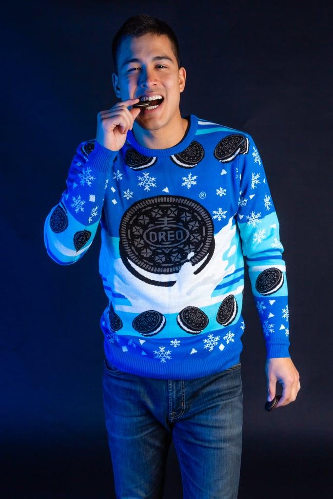 Men's Oreo Polar Milk Plunge Sweater