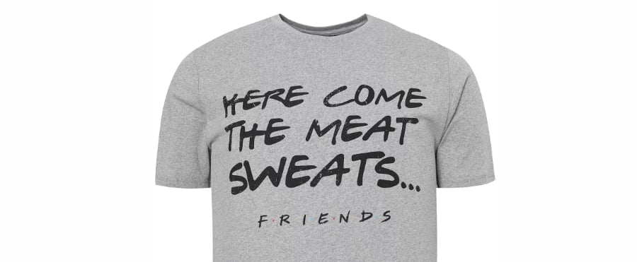 Asda Is Selling a Joey From Friends Meat Sweats T-Shirt