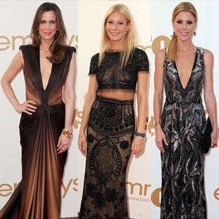 Pictures of All the Celebrities and Dresses on the 2011 Emmy Awards Red Carpet