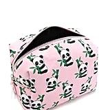 Forever21 Panda Print Makeup Bag