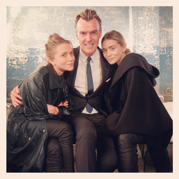 Mary-Kate and Ashley Olsen snapped some pics during Fashion Week.  Source: Instagram user neimanmarcus