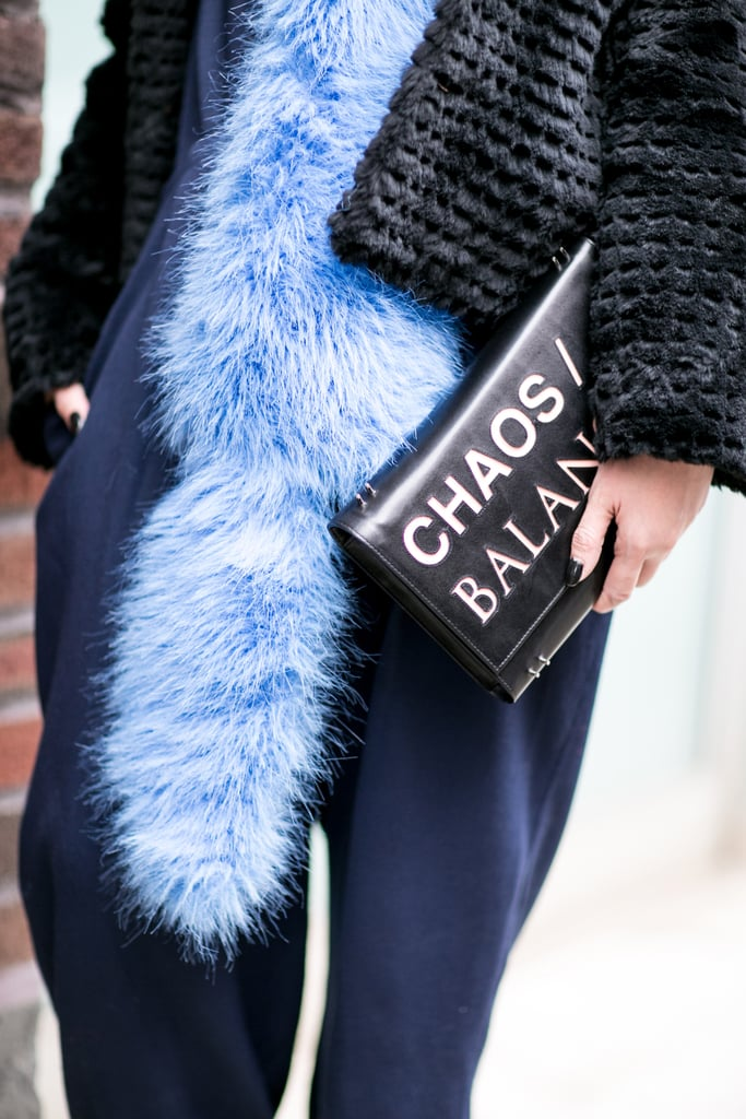 We're especially into clutches that double as message boards.