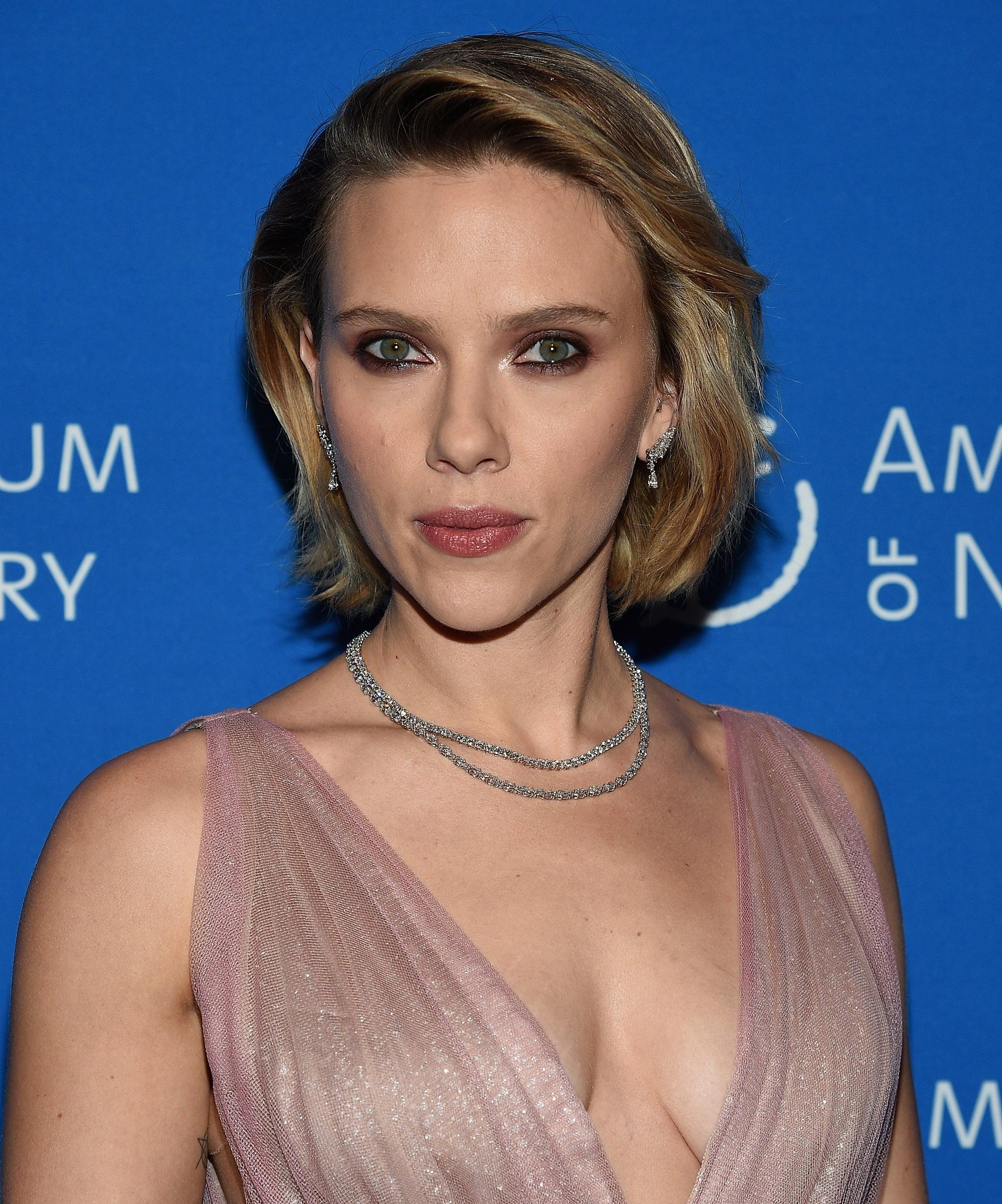 Scarlett Johansson As Natasha Romanoff Black Widow David