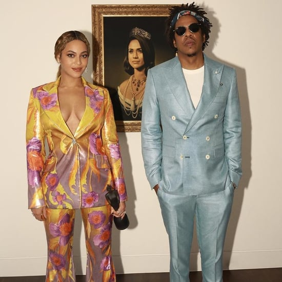 Beyonce's Peter Pilotto Suit Brit Awards Video February 2019
