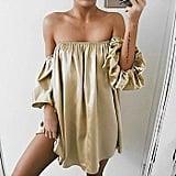 Goodtrade8 Off-Shoulder Dress
