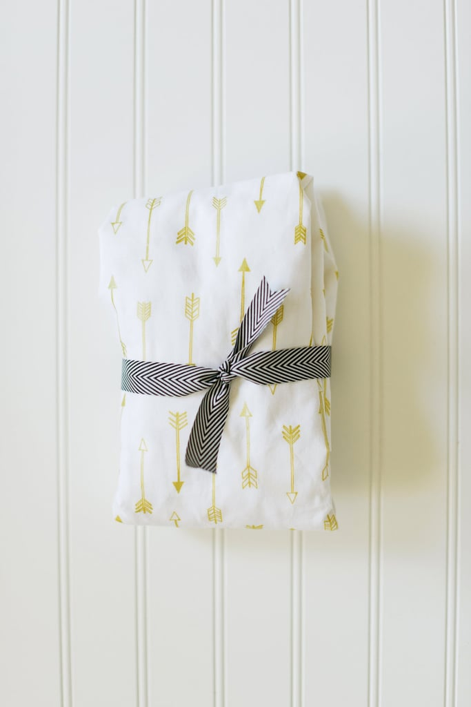 Fitted Arrow Crib Sheet
