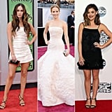 Megan Fox, Jennifer Lawrence, and Lucy Hale