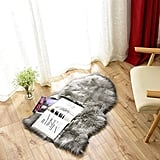 Carvapet Luxury Soft Faux Sheepskin Rug