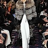 At Sonia Rykiel, Gigi Channeled Sophisticated Glamour