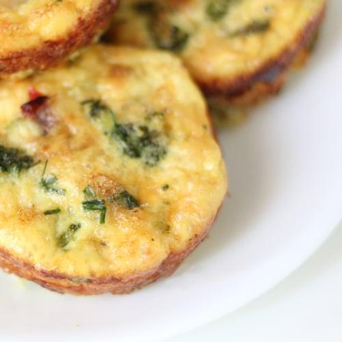 Cheddar Egg Muffins