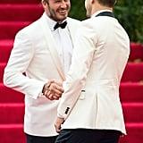 David Beckham and Joshua Jackson