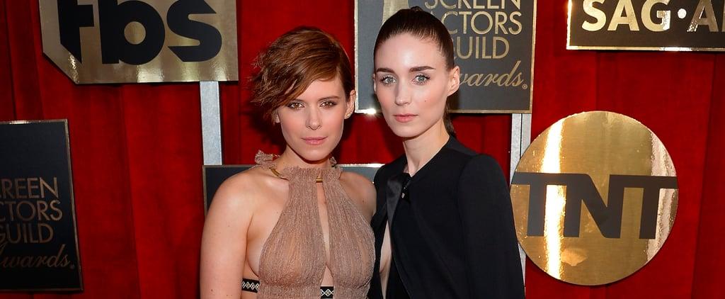 Kate and Rooney Mara's Dresses at SAG Awards 2016