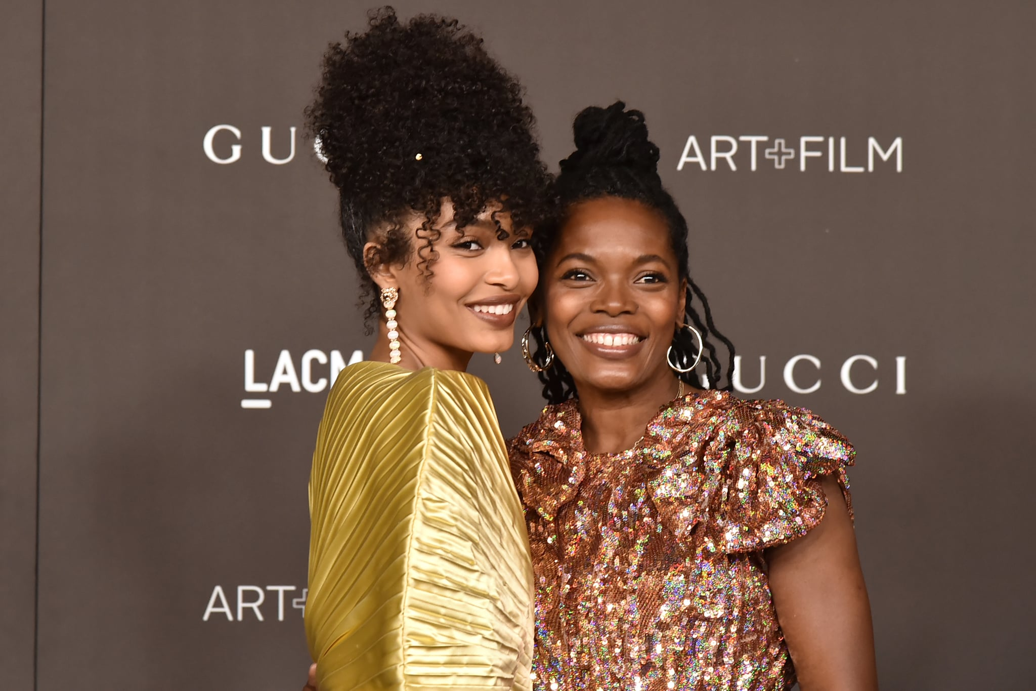 LOS ANGELES, CALIFORNIA - NOVEMBER 02: Yara Shahidi and Keri Shahidi attend the 2019 LACMA Art + Film Gala  at LACMA on November 02, 2019 in Los Angeles, California. (Photo by David Crotty/Patrick McMullan via Getty Images)