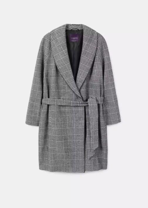 Mango Violeta Coat