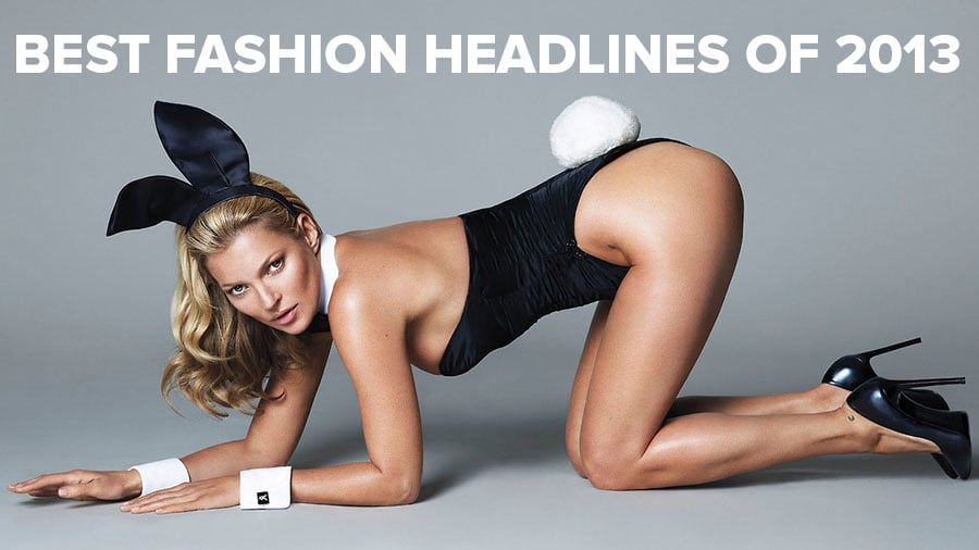 Every Fashion Headline of 2013 in 90 Seconds!