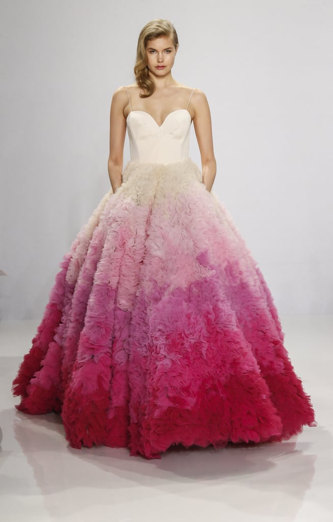 Ombré ball gown. | Christian Siriano Wedding Dresses 2016 | POPSUGAR ...