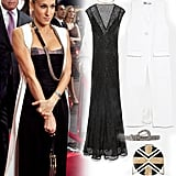 Carrie Bradshaw's LBD and White Vest