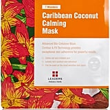 Mask away this weekend with this calming sheer version. Leaders Cosmetics 7 Wonders Caribbean Coconut Calming Mask - Pack of 5 ($30)