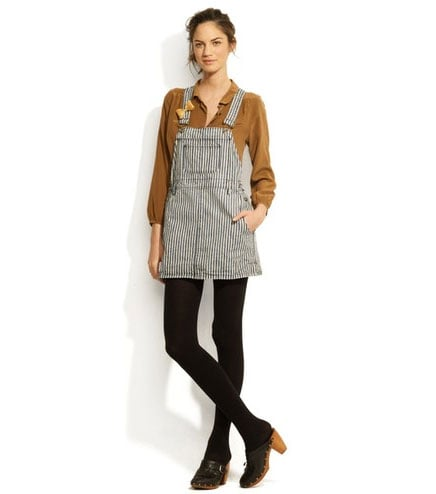 Striped Polly Coverall Dress ($125)