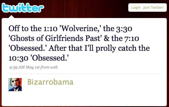 Tweet Nothings: Bizarrobama