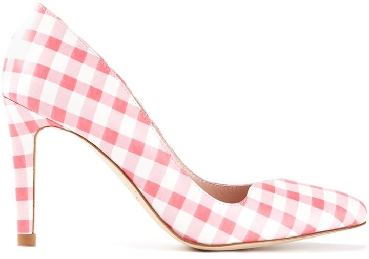 Carven Checked Stiletto Pumps
