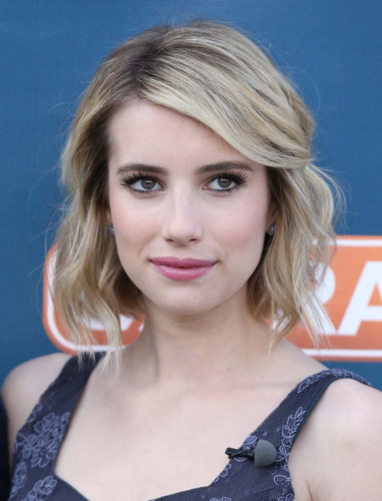 Emma Roberts | Best Bob Haircuts For All Hair Types | Celebrity Photos | POPSUGAR  Beauty UK Photo 47
