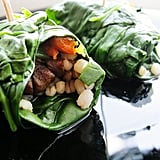 Spinach Veggie Wraps