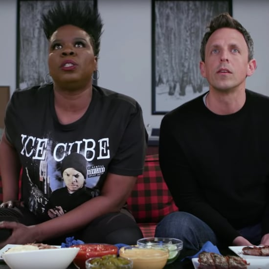 Leslie Jones and Seth Meyes Game of Jones Season 8 Premiere