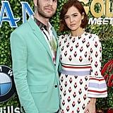 Ben Platt and Zoey Deutch at the 2020 Gold Meets Golden Party in LA