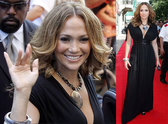 Photos of Jennifer Lopez Presenting Her New Lingerie Line in Barcelona