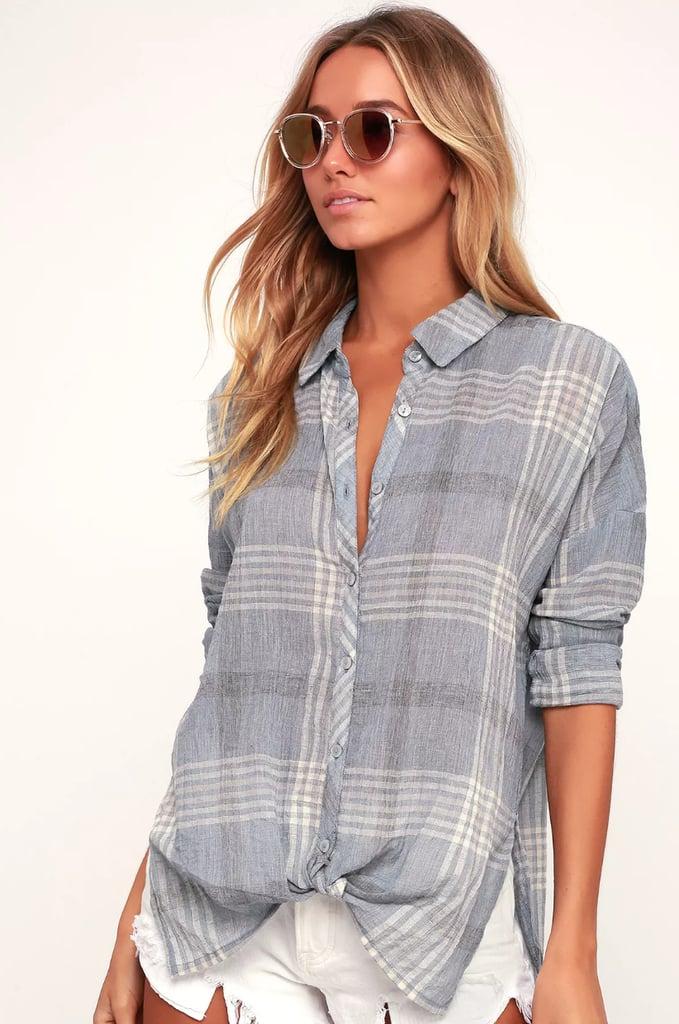 Shop a Similar Flannel Shirt
