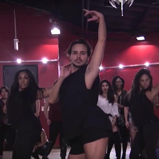 "Christina Aguilera ""Telepathy"" Dance Video"