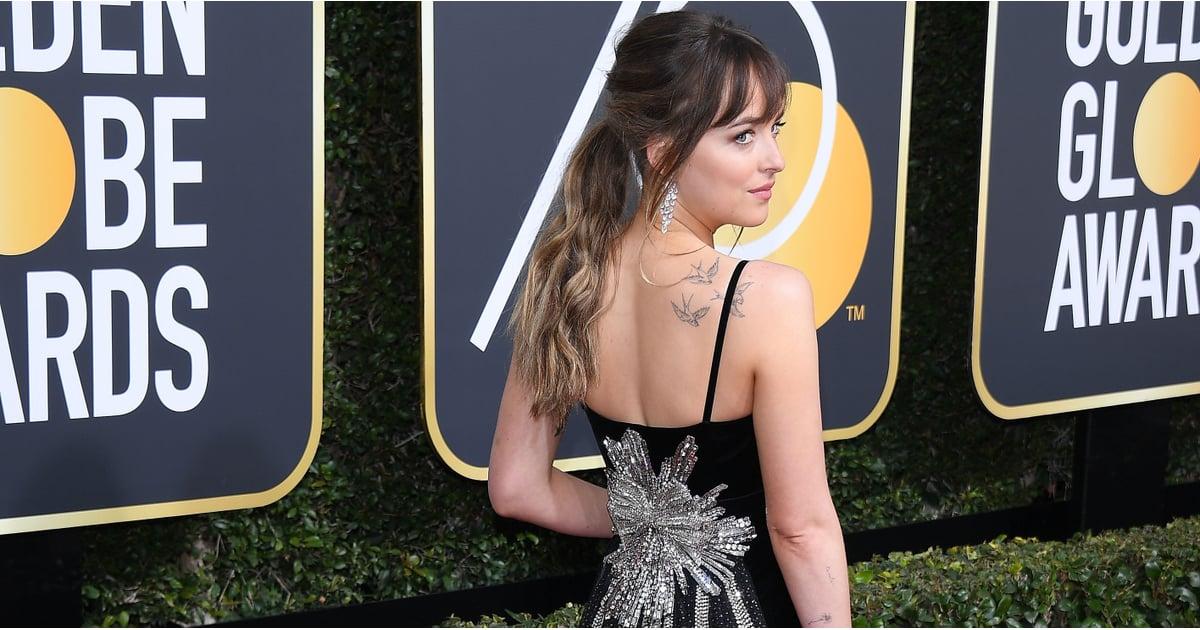94ef02c67 Back of Dresses Golden Globes 2018 | POPSUGAR Fashion