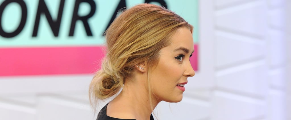 Lauren Conrad's Pearl-Studded Up 'Do Is the Perfect Style For Boho Brides
