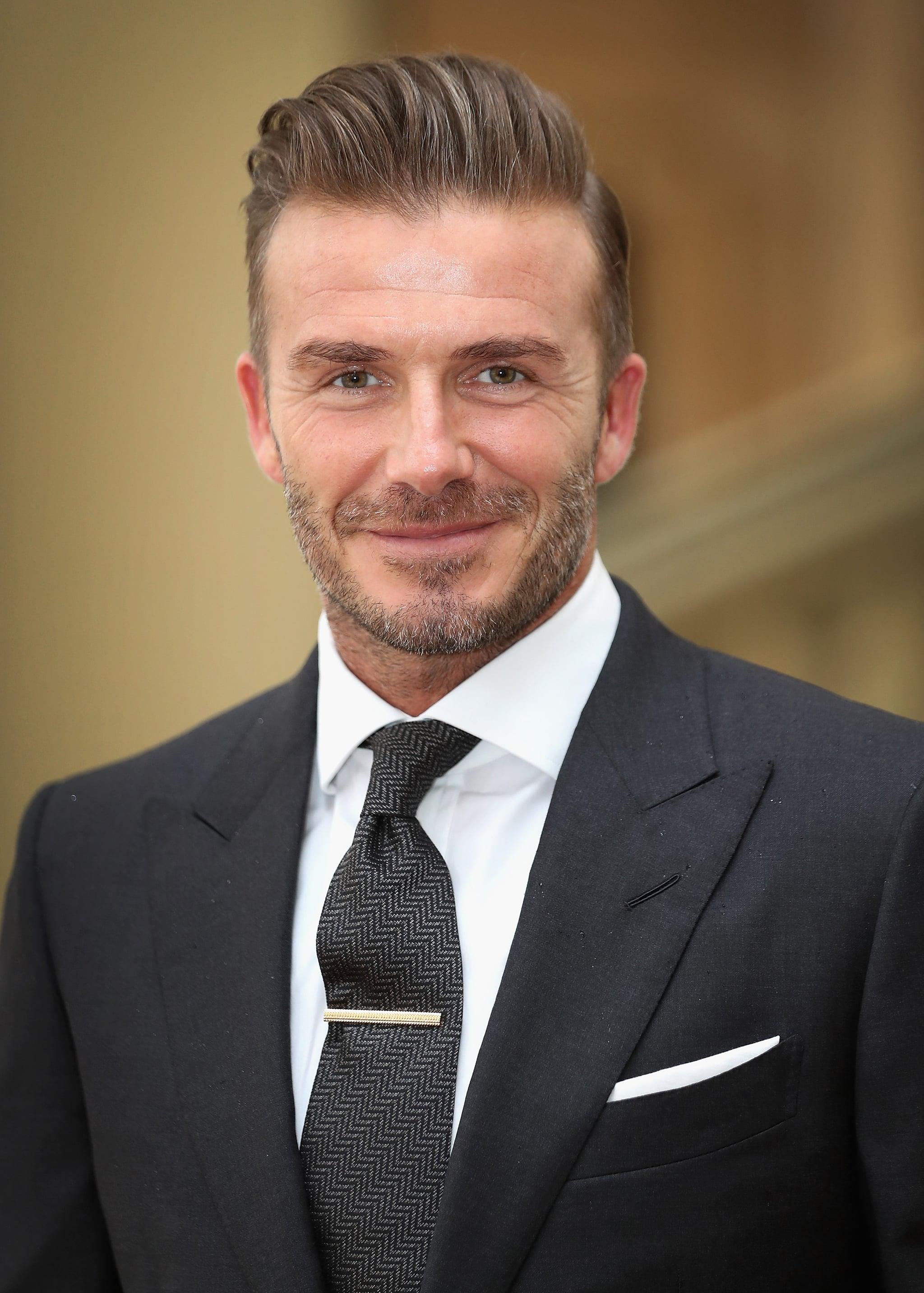 Queen Elizabeth And David Beckham In London June 16 Popsugar Celebrity