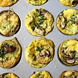 Cheesy Spinach Egg Muffins