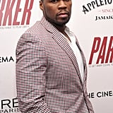 50 Cent attended a screening of Parker in NYC.