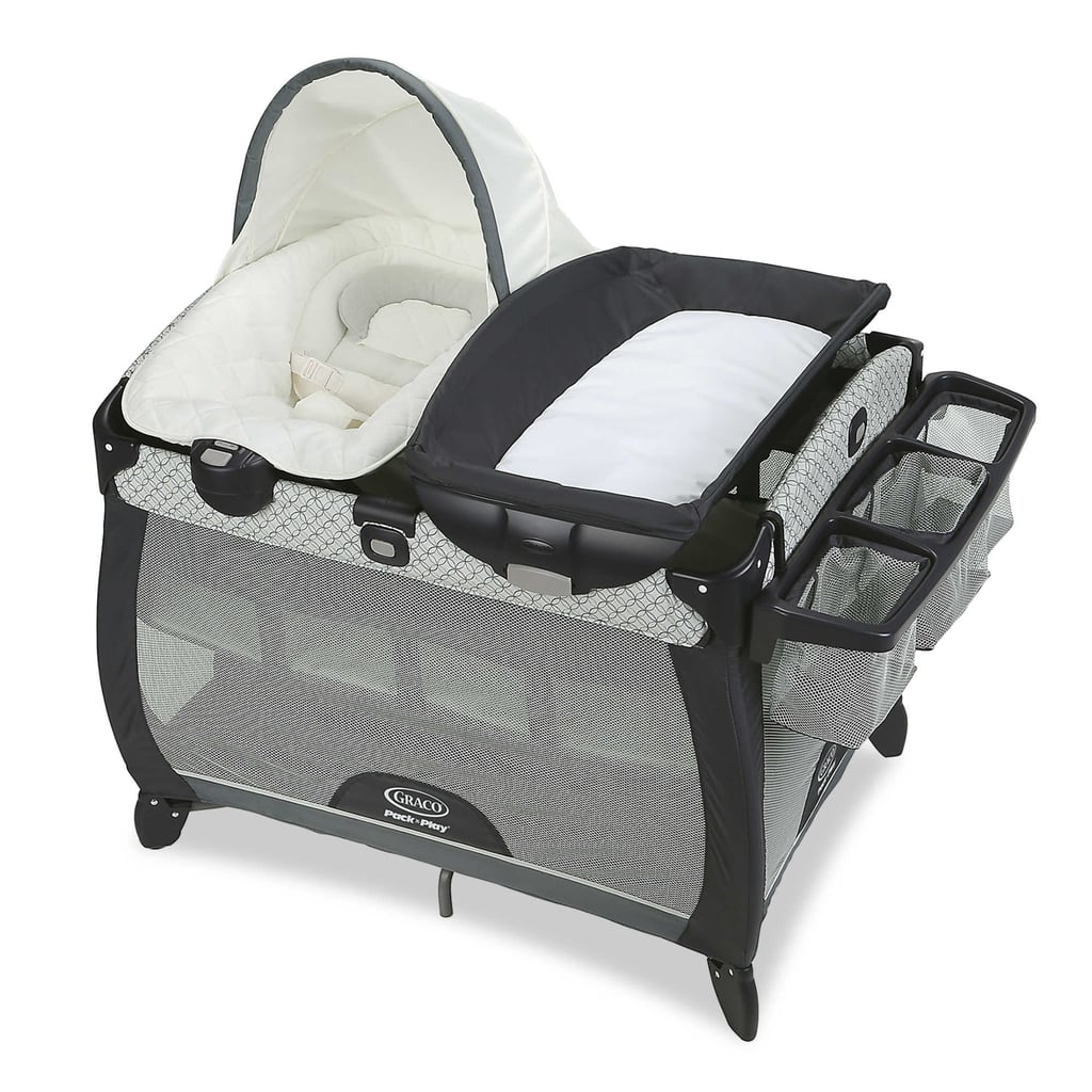 Graco Pack 'n Play Quick Connect Portable Napper Deluxe with Bassinet