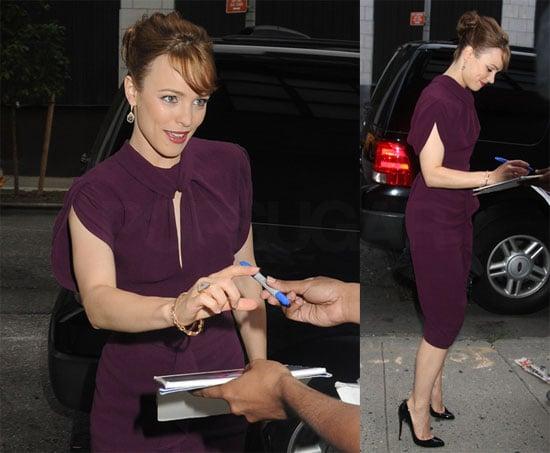 Photos of Rachel McAdams on The Daily Show