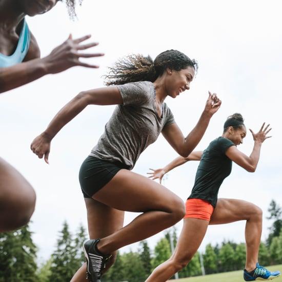 هل يساعد الجري السريع على بناء العضلات?