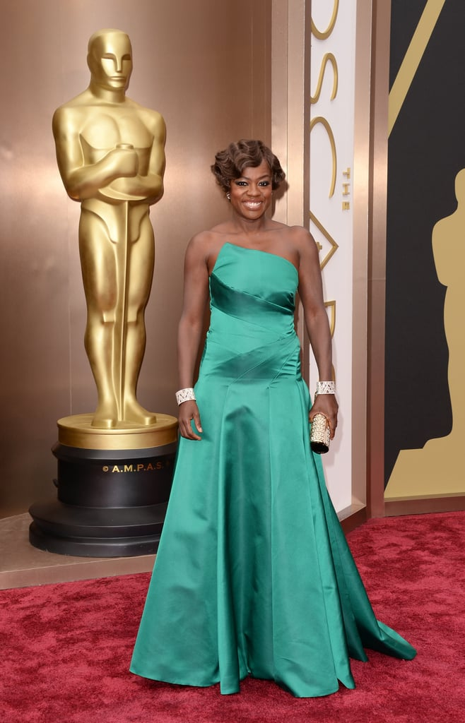 Viola Davis at the 2014 Oscars